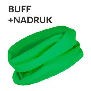 Komin BUFF jednokolorowy z Twoim napisem/logo