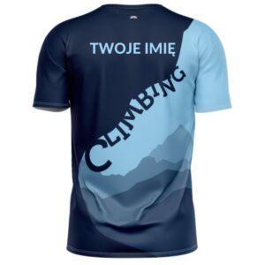 Koszulka sportowa CLIMBING, Twoje imię