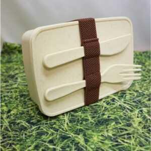 Pudełko z włókna bambusowego, zestaw