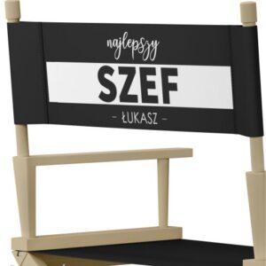 """Krzesło reżyserskie """"SZEF"""""""