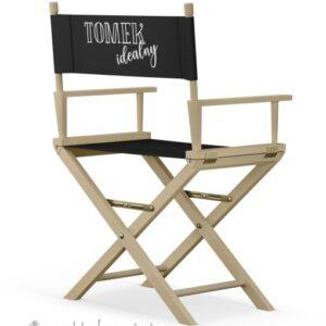 """Krzesło reżyserskie naturalny buk """"IDEAŁ"""""""