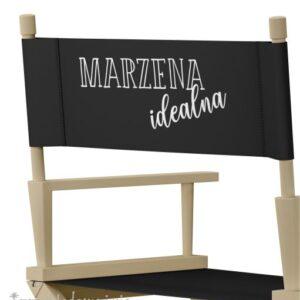 """Krzesło reżyserskie naturalny dąb """"IDEAŁ"""""""