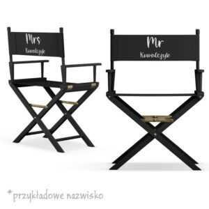 Komplet krzeseł dla nowożeńców MR i MRS