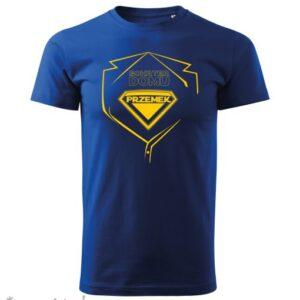 Koszulka BOHATER DOMU, Twoje imię