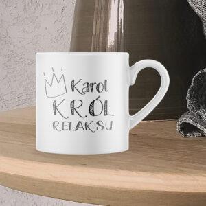 Kubek espresso, KRÓL RELAKSU, 150ml