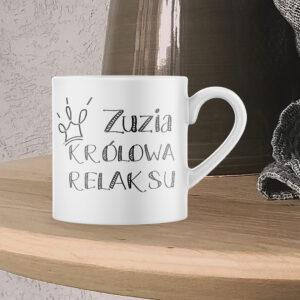 Kubek espresso, KRÓLOWA RELAKSU, 150ml